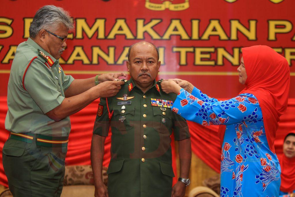 Pegawai Kanan Td Naik Pangkat Berita Tentera Darat Malaysia